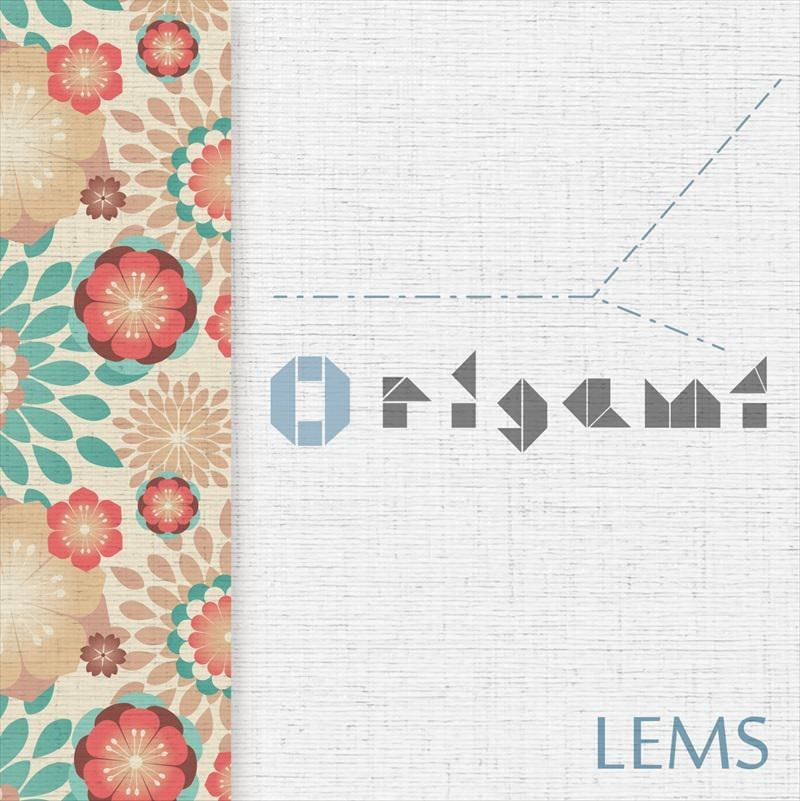 咲くカフェ LEMSによるInstrumental Jazzy HipHop「Origami」。Japanese hiphop beatmaker。